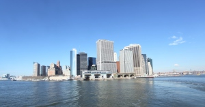 Down Town Manhattan from the Staten Island Ferry